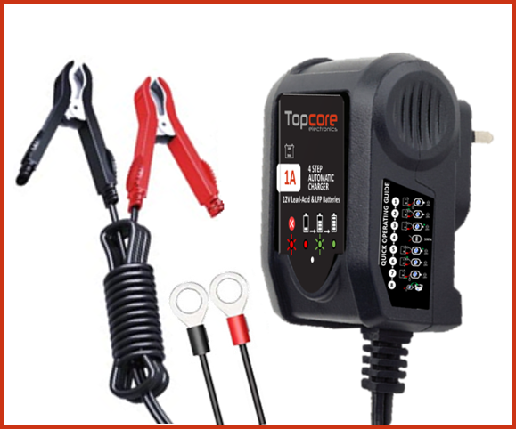 Topcore charger 1A